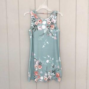 Ally B Floral Dress
